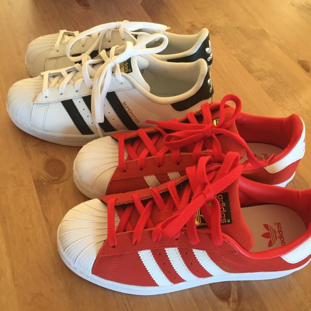 Lykken er helt nye, gnistrende sko på en solrik vårdag